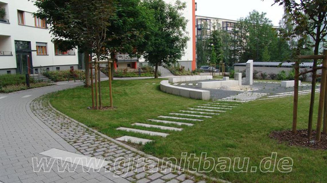 Außenanlage SWG Nordhausen